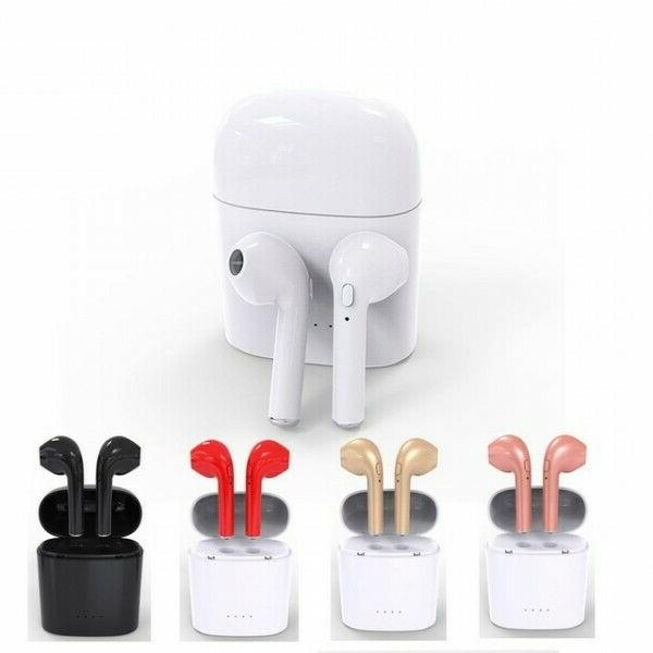 Bluetooth Wireless TWS Earbuds w Charger Box-
