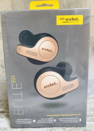 Jabra Active 65t Alexa Enabled Wireless Earbuds Gold