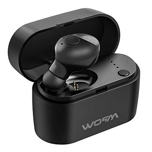 Mpow Em14 Bluetooth Earpiece With Portable Charging Case