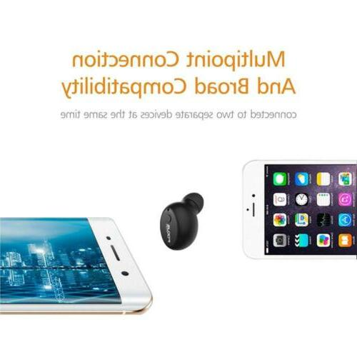 FOCUSPOWER Earbud Wireless Invisible Headphone...