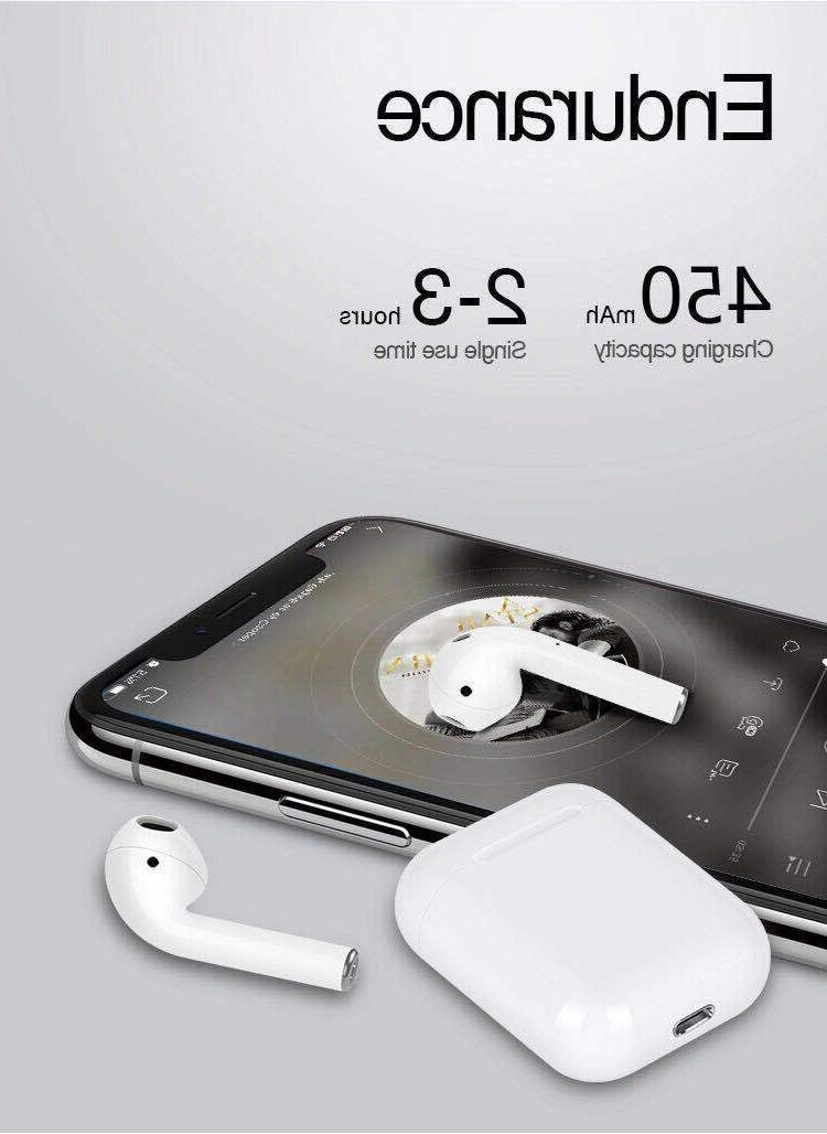 i12 Touch TWS Earbuds Bluetooth For iPhone