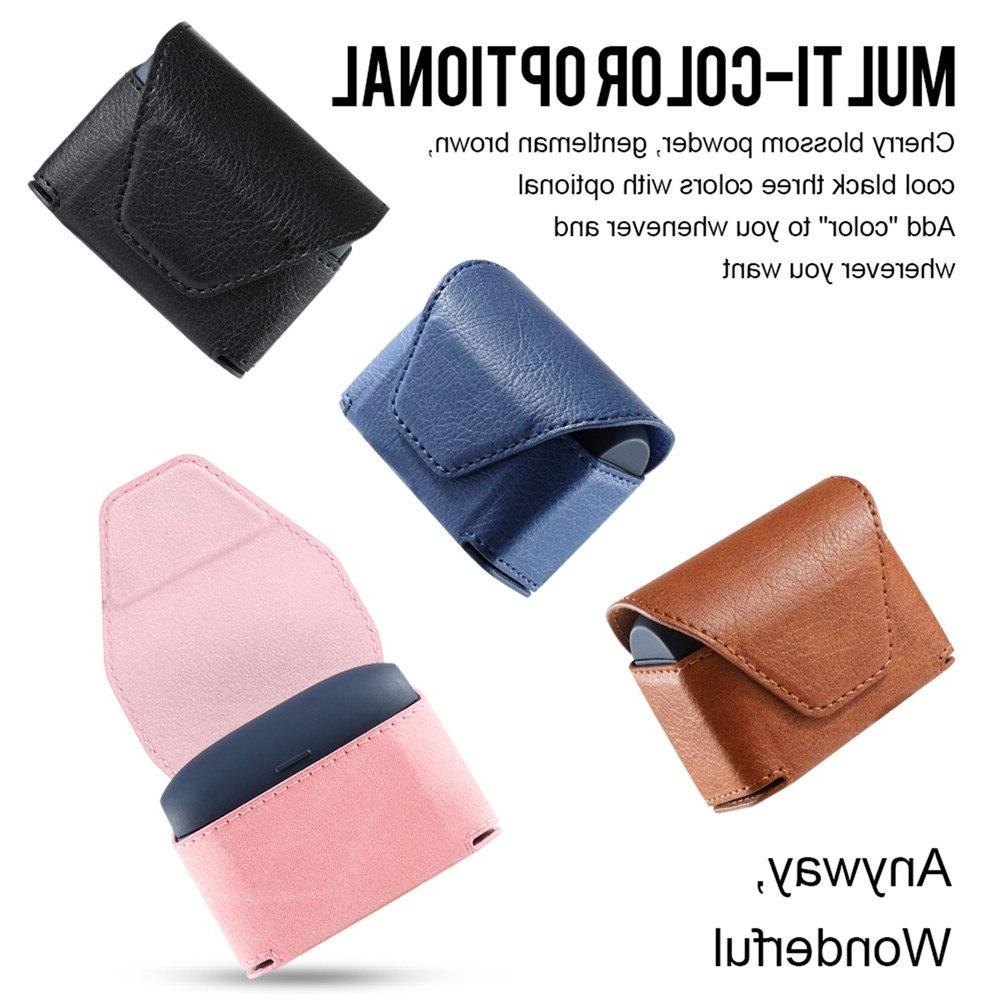 leather portable case protective bag with litchi