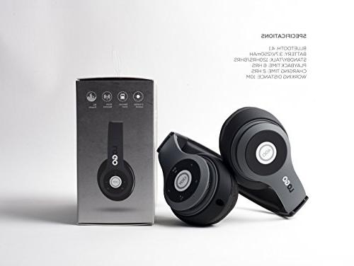 iJoy Rechargeable Headphones Over Ear Headset
