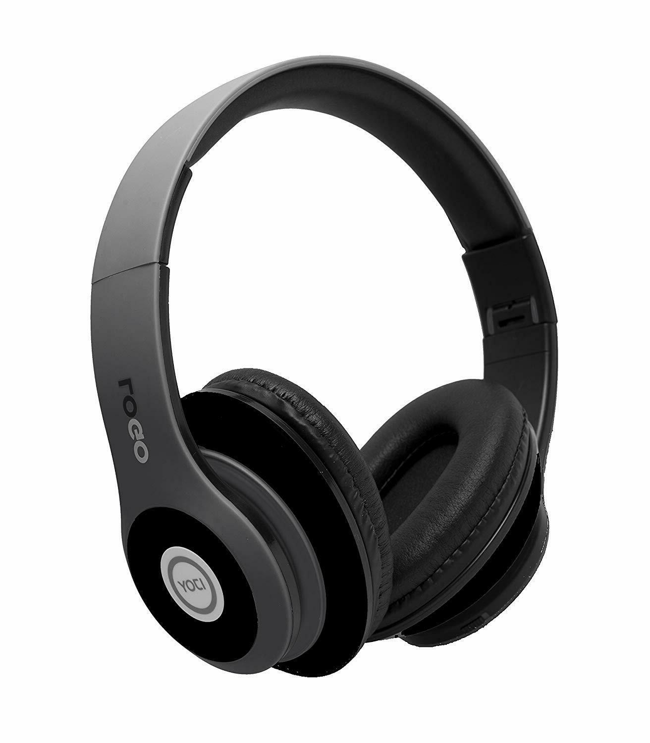 matte finish rechargeable wireless headphones