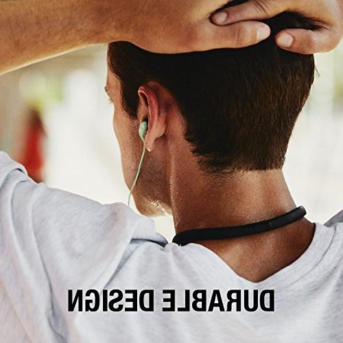 Skullcandy Method Wireless Sweat-Resistant Earbuds Microphone, Secure Around-The-Neck 9-Hour
