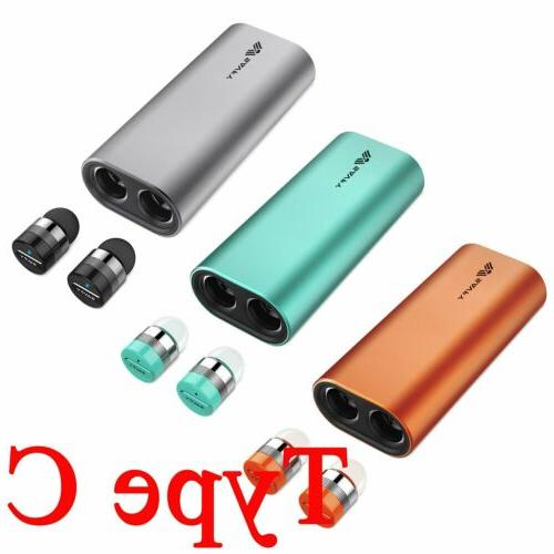 Mini Wireless Twins Stereo Earbuds Bluetooth Headsets