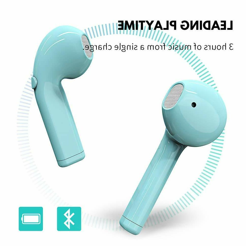 NEW Bluetooth Earbuds with iPhone Android Pods