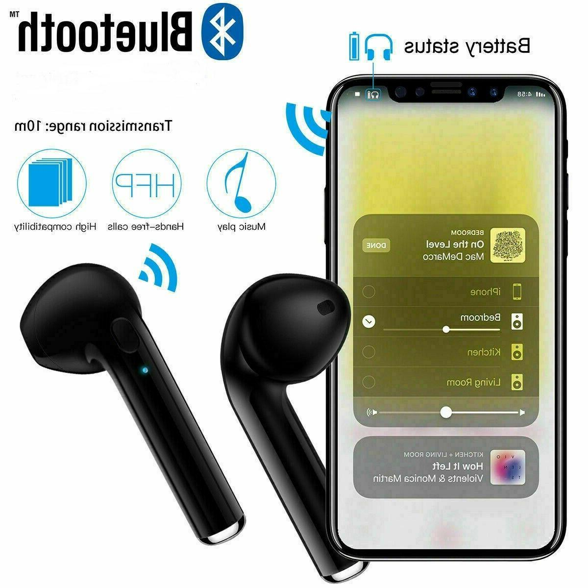 Bluetooth Headphones For Android Samsung Earbuds