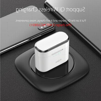 Qi bluetooth5.0 Headset TWS Earbuds US