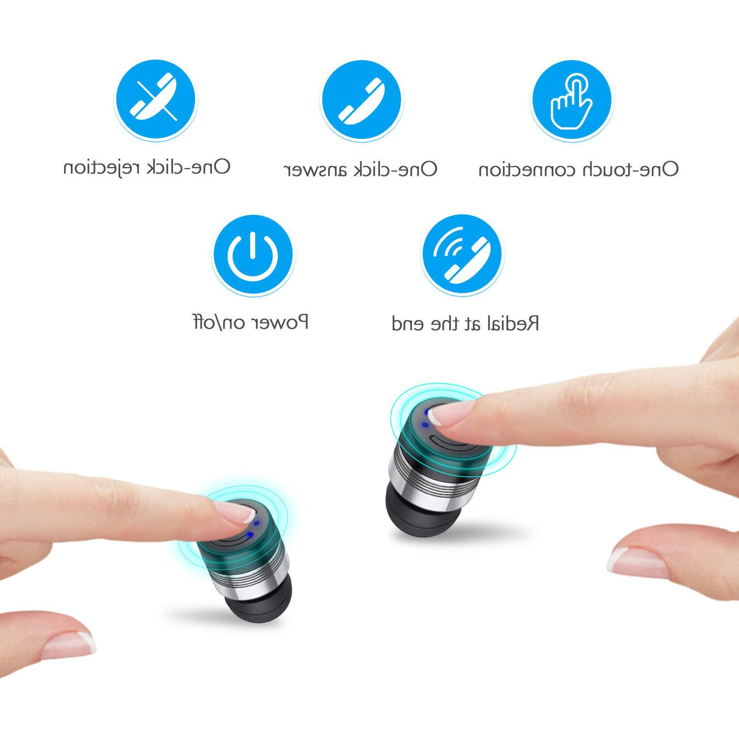 TWS Wireless Earbuds 5.0 Mic
