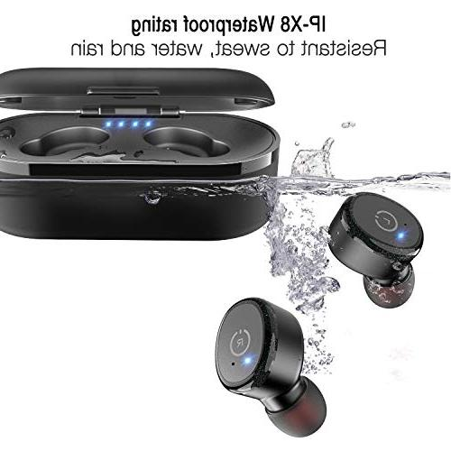 TOZO Bluetooth Stereo】 in-Ear Wireless Sound Bass for Running Sport