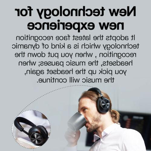 Bluedio Bluetooth ANC Headphone Wireless with face recognition