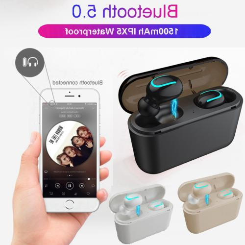True Wireless Bluetooth5.0 Sports Earbuds Ear HD