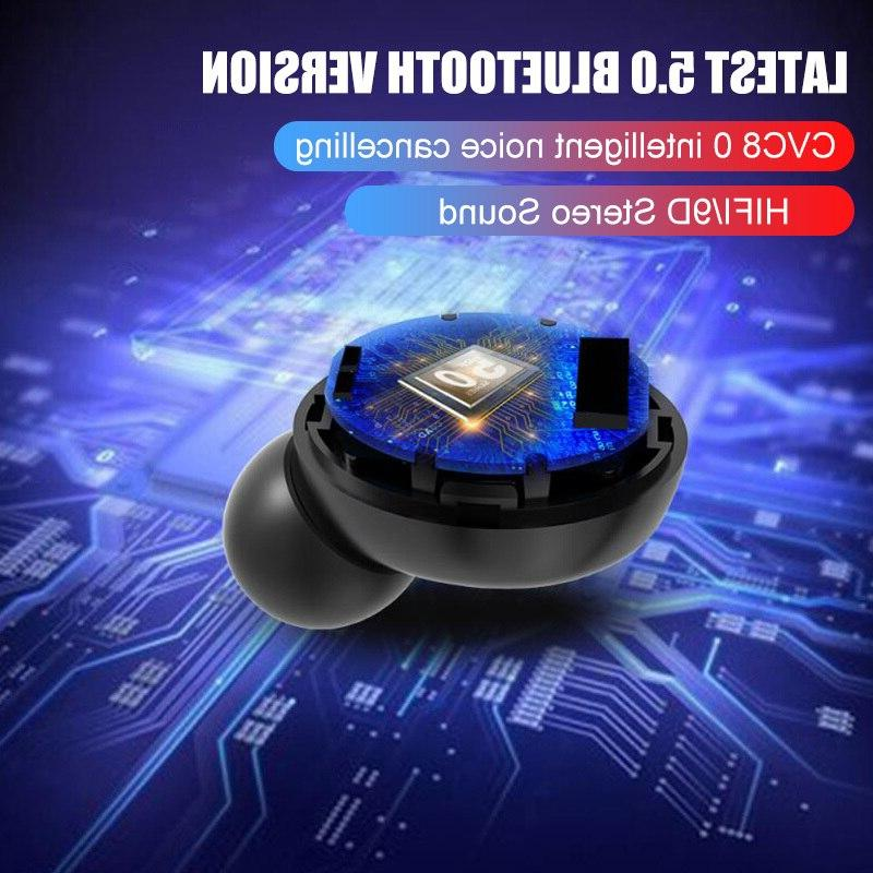 TWS Blutooth Wireless IPX7 Waterproof With 4000mAh Charing