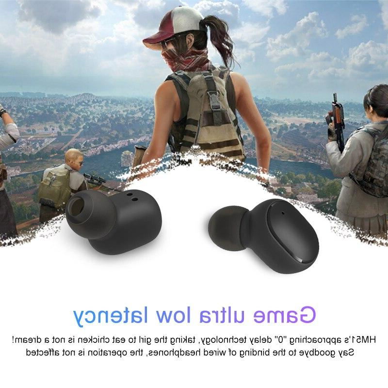 TWS 5.0 Earphone Noise Cancelling With for <font><b>Wireless</b></font>