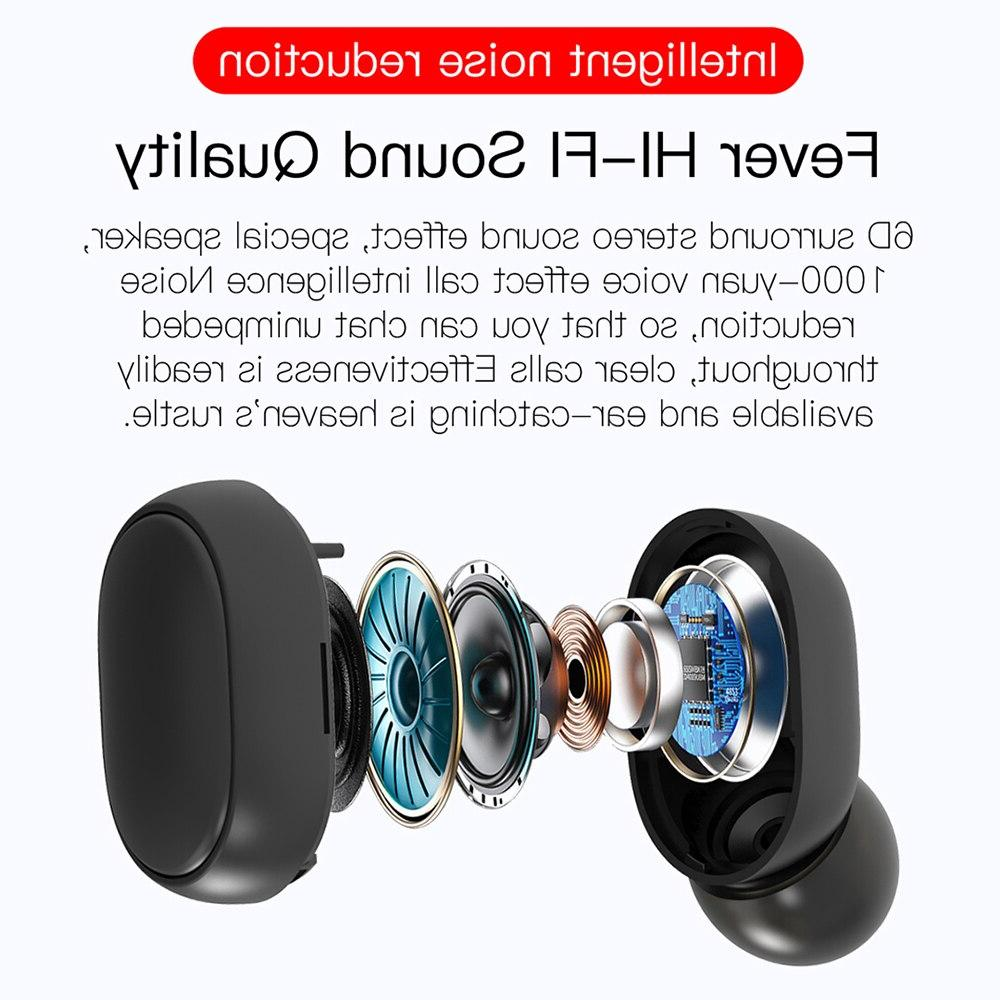TWS 5.0 Noise With for Xiaomi Redmi <font><b>Wireless</b></font> <font><b>Earbuds</b></font>