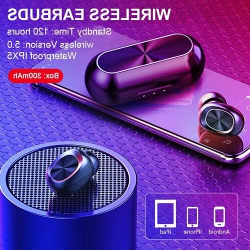 Bluetooth iPhone Android Samsung Wireless Earphone