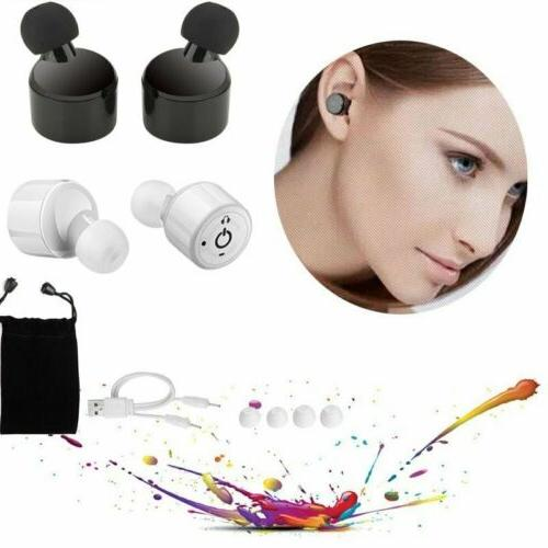 TWS Bluetooth Earbuds Headset for