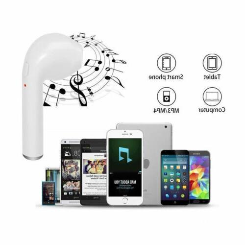 Wireless Bluetooth Headphones In-Ear Stereo For iPhone