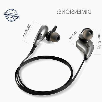 Wireless Bluetooth In Earbud For Cell Gym