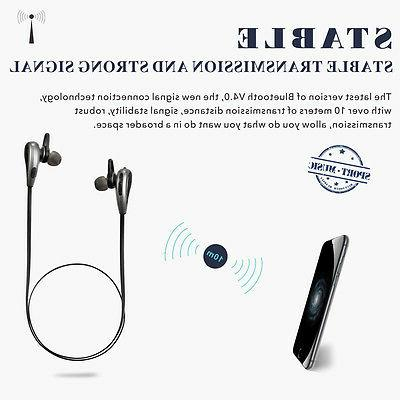 Wireless Bluetooth Earphone In Ear For Cell Phone Gym