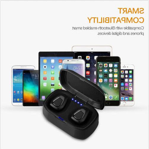 Wireless Bluetooth Stereo Mini Earbuds In