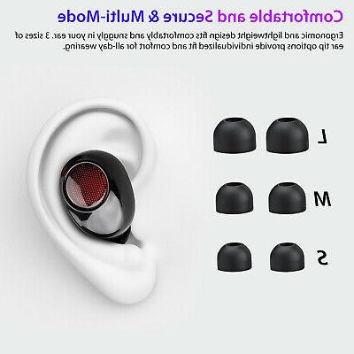 Bluetooth Earbuds For Earpods iPhone Android Airpods