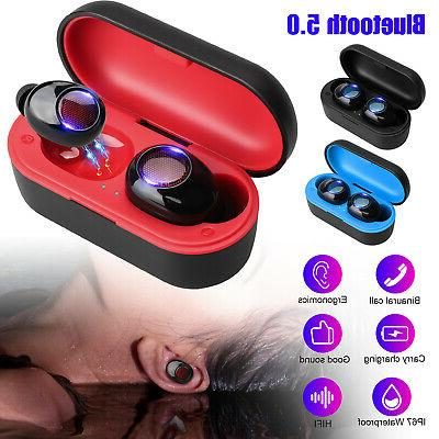 bluetooth earbuds headset for earpods iphone android