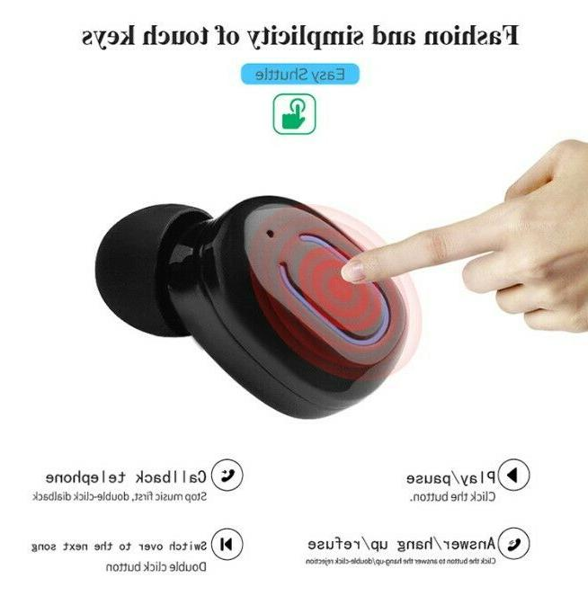 Dual Wireless Bluetooth Earbuds Android Universal Phone
