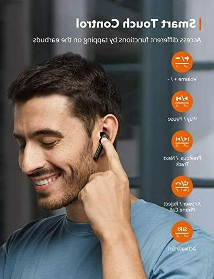 Wireless Earbuds, 92 Bluetooth 5.0 Charging Case