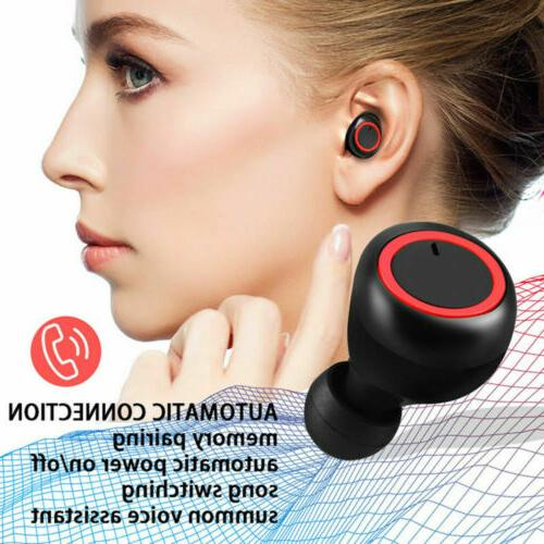 Wireless Waterproof Charge Case Bluetooth Stereo +