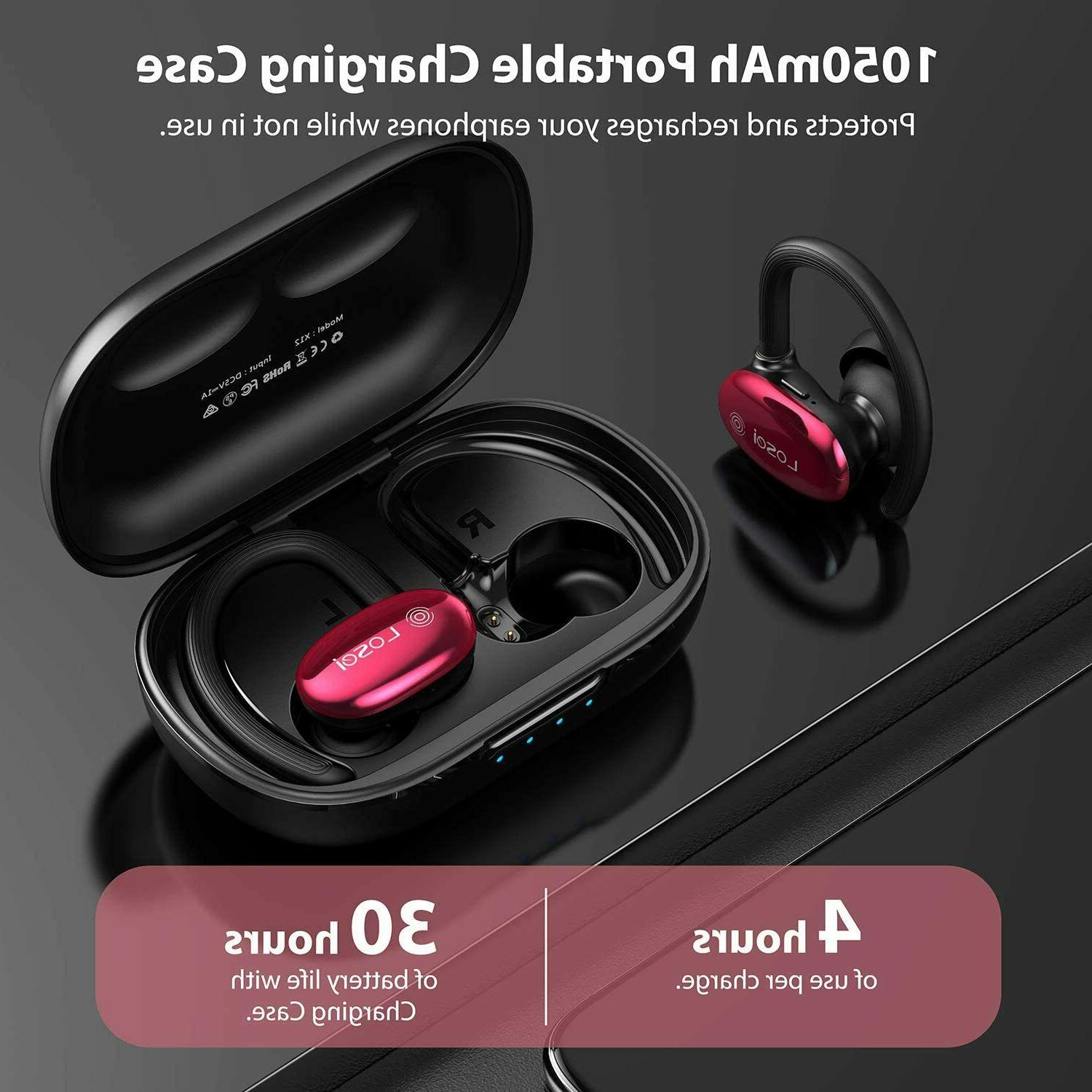 Wireless Headphones Sports Touch Control