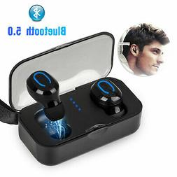 Mini TWS Wireless Bluetooth 5.0 Earbuds Stereo Twin Headset