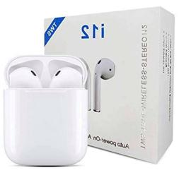 Earbuds Bluetooth Wireless Headphones Headset Earpods Iphone