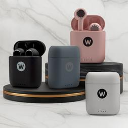 NEW Wireless Earbuds, Bluetooth V-5.0, Charging Case, Microp