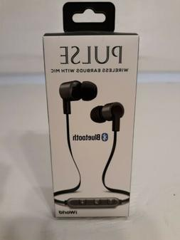 iWorld Pulse Wireless Bluetooth Earbuds with In-line Microph