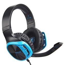 Sodoop SADES R17Gaming Headset,3.5mm Over-Ear Headphone Mi