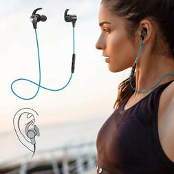 Sweatproof Wireless Bluetooth Sport Headphones Earphones Ste