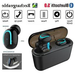 TWS Wireless Mini In-Ear Earbuds Bluetooth 5.0 Headset Earph