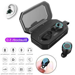 TWS Twins Wireless Bluetooth Earbuds In-ear Earphone for IOS