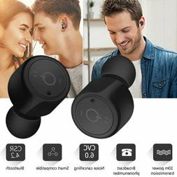 tws wireless in ear stereo bluetooth earphone