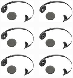 Plantronics  6-Pack Uniband Headband with Leatherette Ear Cu