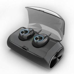 Excelvan V6 mini Bluetooth 5.0 Wireless Earbuds with Mic for