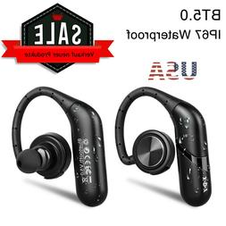 Waterproof True Wireless Sport Earbuds Headset Bluetooth In