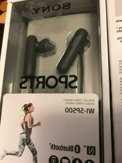 Sony WI-SP500 Wireless In-Ear Sports Headphones, Black