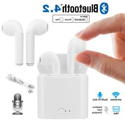 Wireless Bluetooth Earbuds Headset In Ear Headphone for iPho