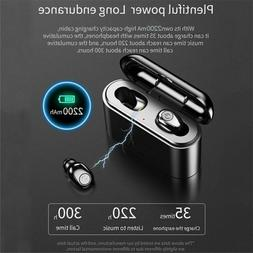 Wireless Earbud Bluetooth 5.0 Stereo TWS Mini Headset In-Ear