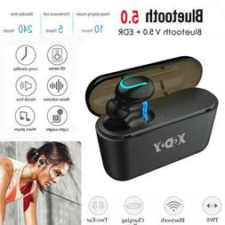 Wireless Earbud TWS Mini True Bluetooth 5.0 Stereo Earphone