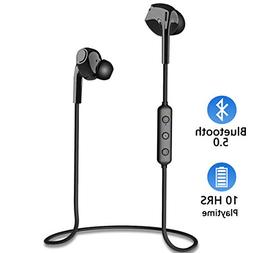 Wireless Earbuds, DULLA Bluetooth Headphones 5.0 HIFI Stereo