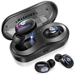 Wireless Earbuds, KNGUVTH Bluetooth Headphones 5.0 True Wire